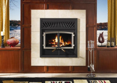 Enerzone Solution Wood Fireplace