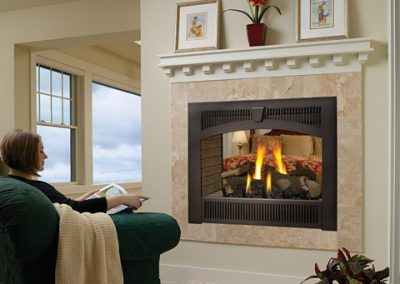 Lopi Hearthview Gas Fireplace