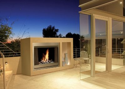 Marquis Aurora Gas Outdoor Fireplace