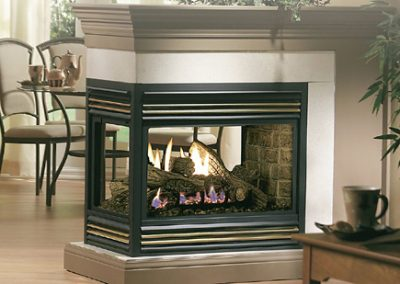 Marquis Gemini Gas Fireplace
