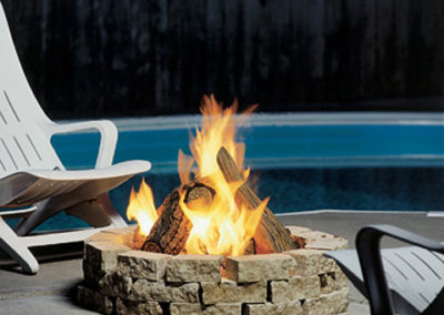 Kingsman Gas Outdoor Fire Pit