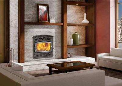 Valcourt Lafayette Wood Fireplace