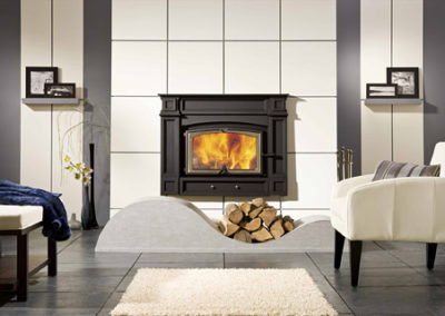 Valcourt Saguenay Wood Fireplace