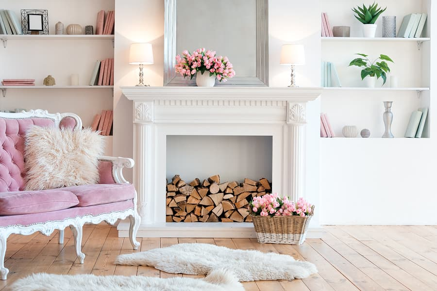 Make Your Fireplace a Bigger Focal Point